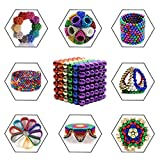 Toys Magnetic Ball, Magnetic Sculpture Toys for Intelligence Development and Stress Relief (5MM Set of 216 Balls)