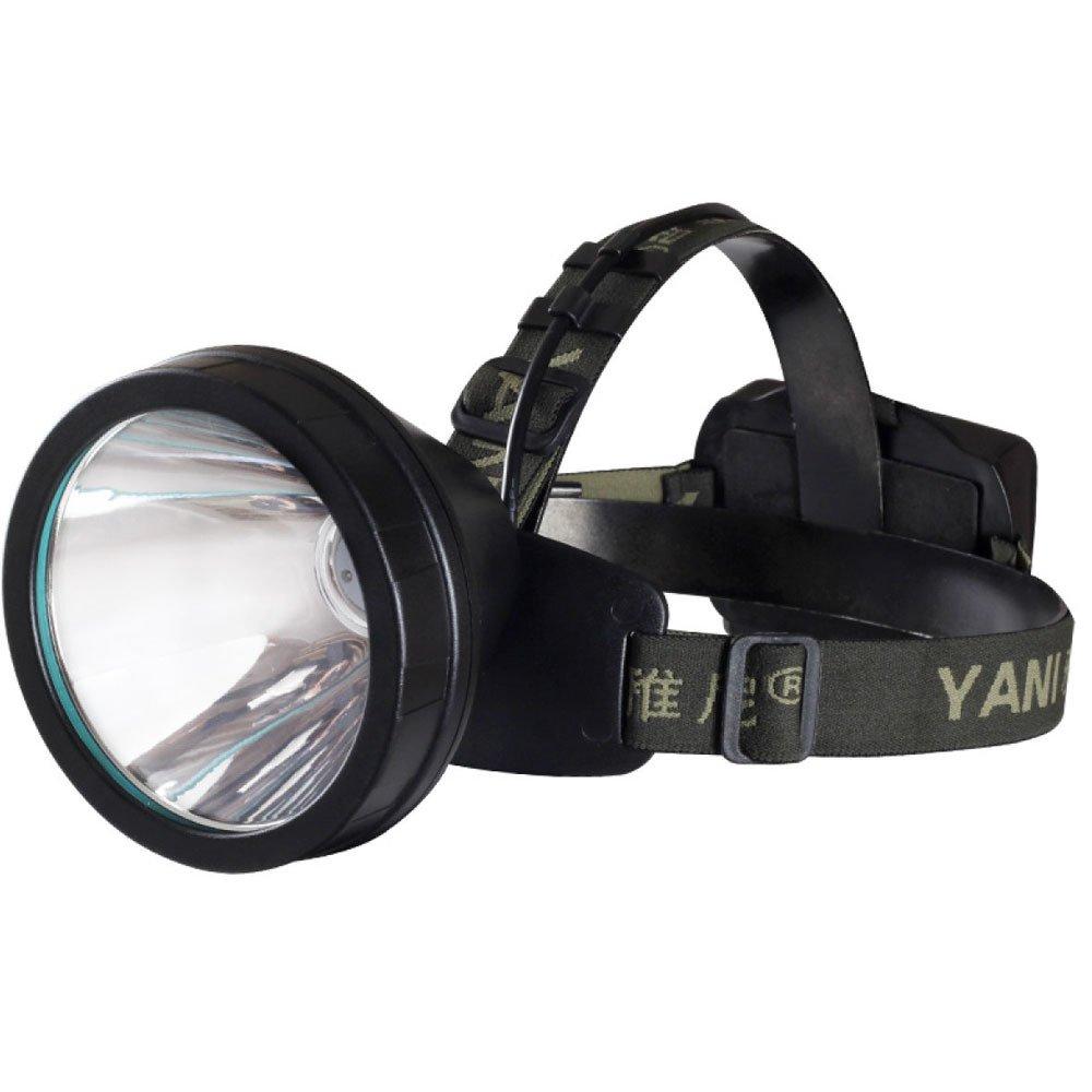 ERHANG Stirnlampen Scheinwerfer Scheinwerfer Taschenlampe Licht Wiederaufladbar Superhell 3000m Headset Weiß Gelb Radfahren Portable Wandern,Weißlight