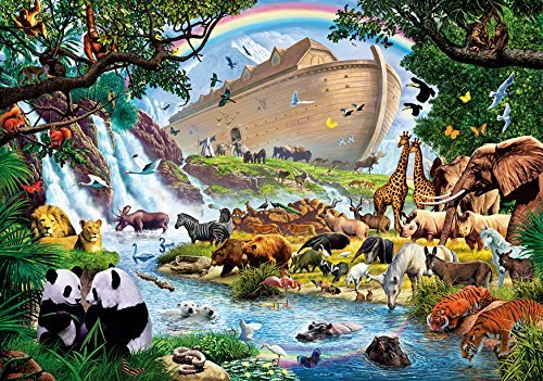 Wentworth The Homecoming 500 Piece Wooden Noah's Ark Jigsaw Puzzle