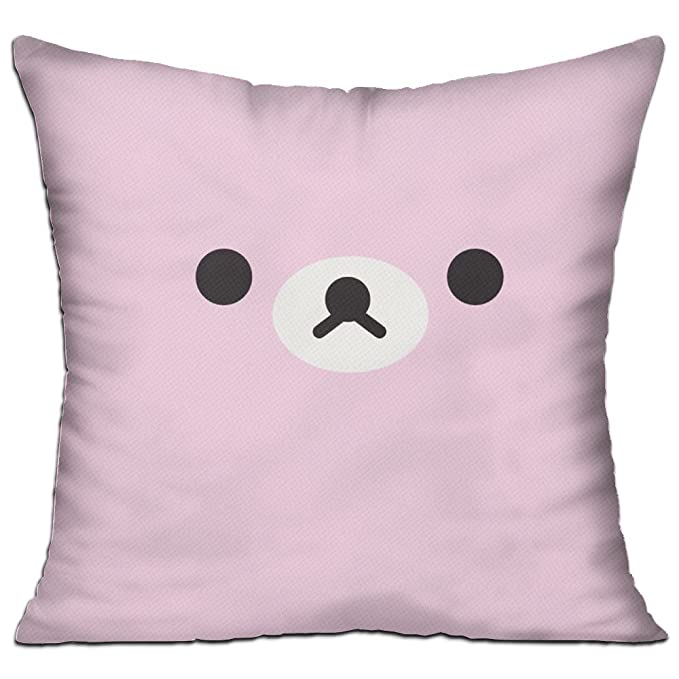 bigkin, oso Emoji cara sofá almohadas 18 x 18 (contienen ...