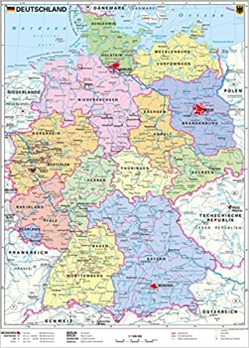 deutschlandkarte politisch