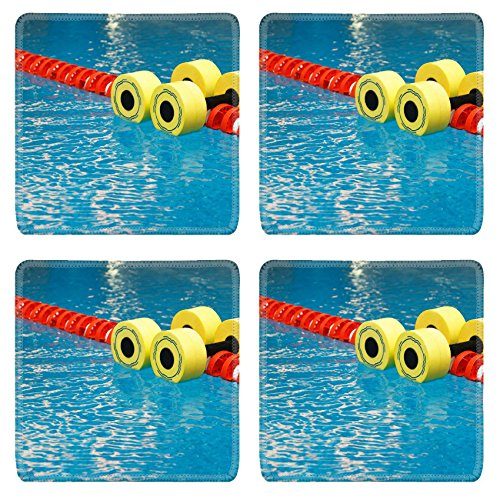 Liili Natural Rubber Square Coasters IMAGE ID: 5720917 Fl...
