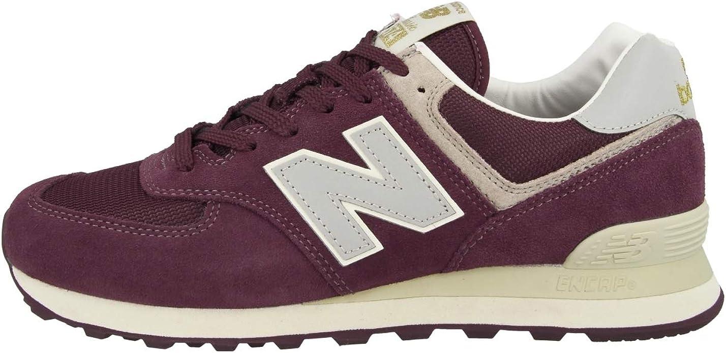 papelería Enojado Academia  New Balance ML574VLB Rouge - Taille: 43 EU / 9 UK: Amazon.fr: Chaussures et  Sacs