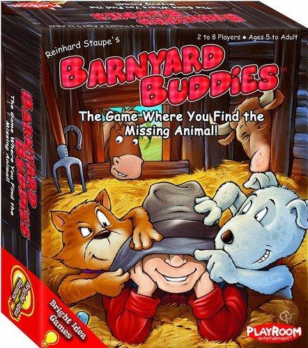 Playroom Entertainment Barnyard Buddies,Card Game ()