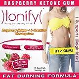 Tonify - FAT BURNER CHEWING GUM (Raspberry Ketone GUM) - 15 Gum Pack