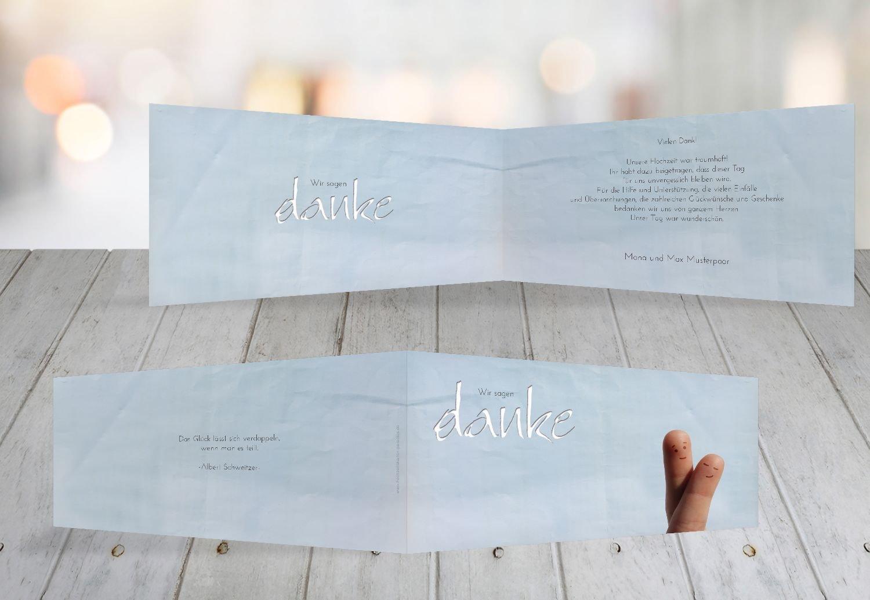 Kartenparadies Danksagung für Hochzeitsgeschenke Hochzeit Dankeskarte Fingerpaar 2, hochwertige hochwertige hochwertige Danksagungskarte Hochzeitsglückwünsche inklusive Umschläge   100 Karten - (Format  215x105 mm) Farbe  Hellbraun B01N36BI3Y | Spielzeugwelt, c93a19