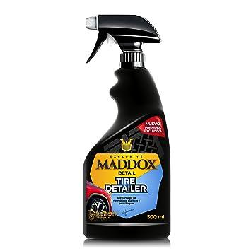 Maddox Detail - Tire Detailer - Abrillantador de Neumáticos, Plásticos, Gomas de Exterior (500ml): Amazon.es: Coche y moto