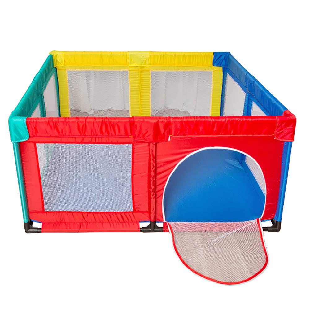 【お気にいる】 赤ちゃんのプレイペンドア折りたたみアンチロールオーバー安全幼児は、プレイヤードアンチコリジョンスクエアメッシュキッズPlayard (色 Style-B, : : Style-B, サイズ さいず : B07JVKJW6H 150×150cm) 150×150cm Style-B B07JVKJW6H, ポルカ:e649e153 --- a0267596.xsph.ru
