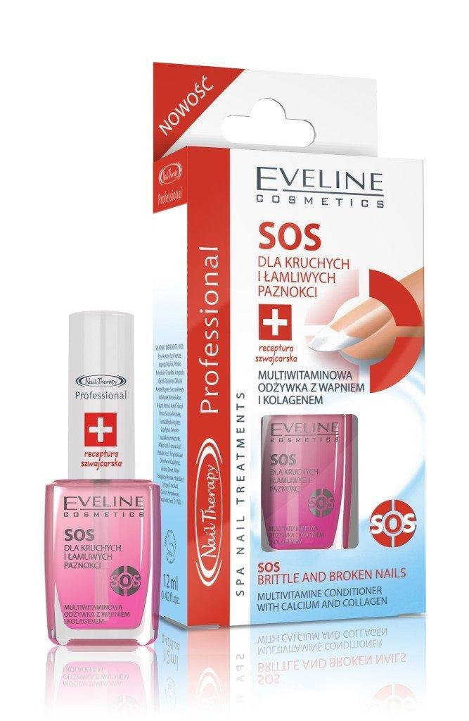 Eveline Cosmetics SOS–acondicionado para frágil y roto clavos
