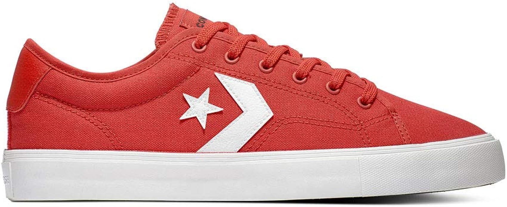 zapatos converse all star rojos