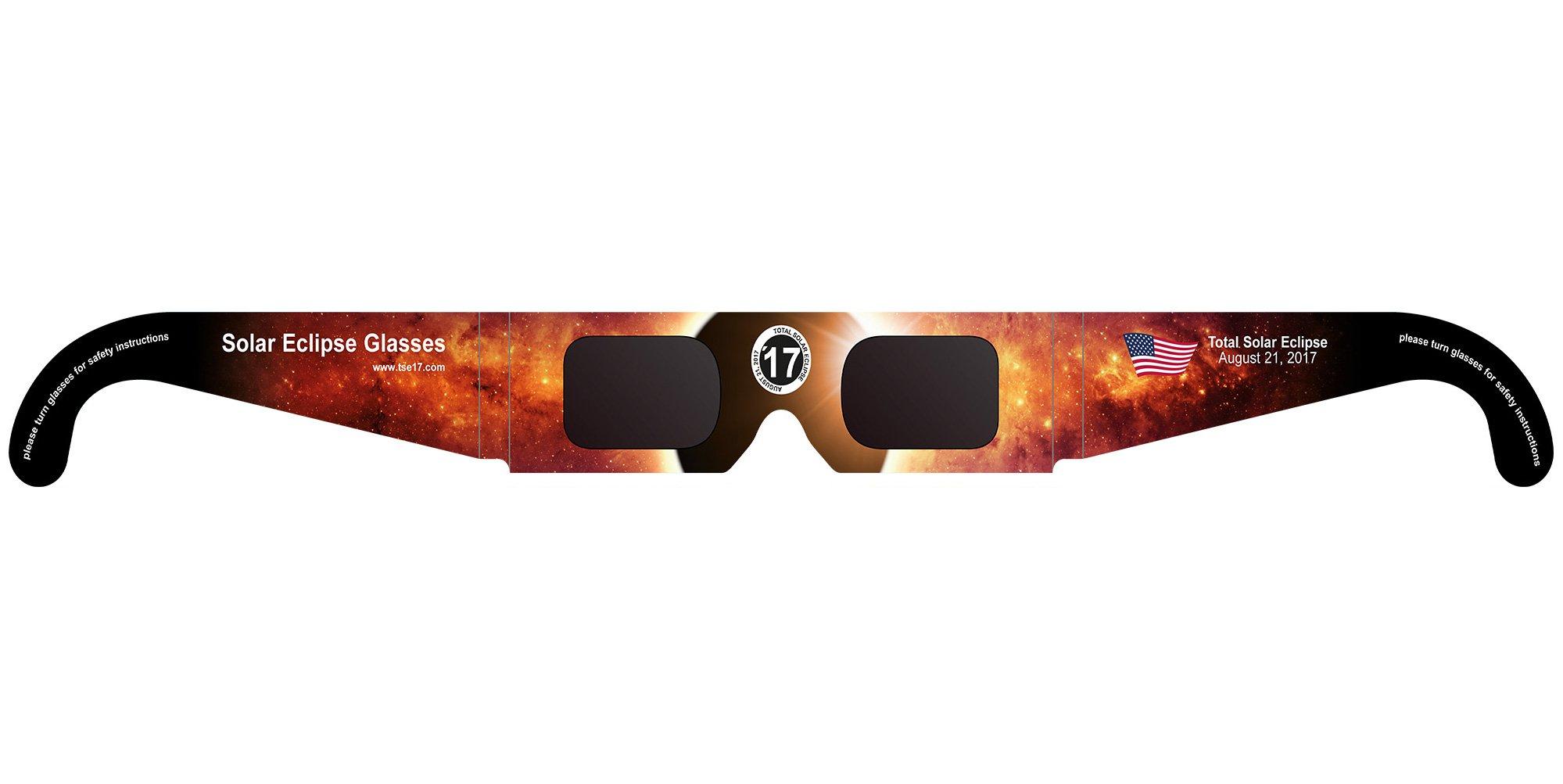 Sunfilter Glasses (Eclipse Glasses, 10-Set) by TSE17, Total Solar Eclipse 2017. …