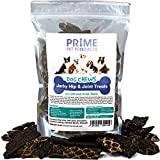 PRIME PET PRODUCTS Hip & Joint Dog Chews Beef Jerky Treats (8 Ounce) Hip and Joint Supplement for Dogs - Supports Healthy Joint Function and Helps With Pain Relief