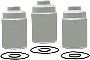 Amazon.com: Diesel Fuel Filters with Seals For 6.6 Duramax Diesel 2001-2016  Chevy Silverado 2500 HD 3500 HD Express GMC Sierra 2500HD 3500HD Savana  Replaces OE # TP3018, TP3012, 12664429, 12633243: AutomotiveAmazon.com