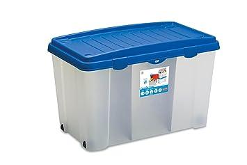Xxl Aufbewahrungsbox Aus Robustem Kunststoff Pp Mit 120 Liter