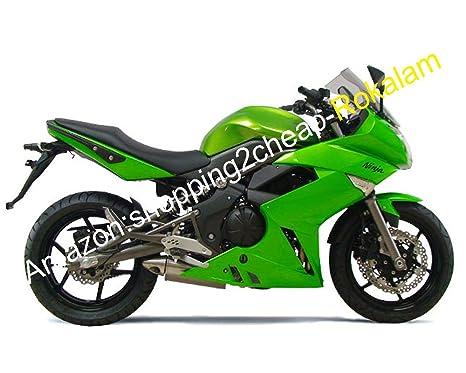 Amazon.com: Custom Green Fairing Set For Kawasaki Ninja 650R ...