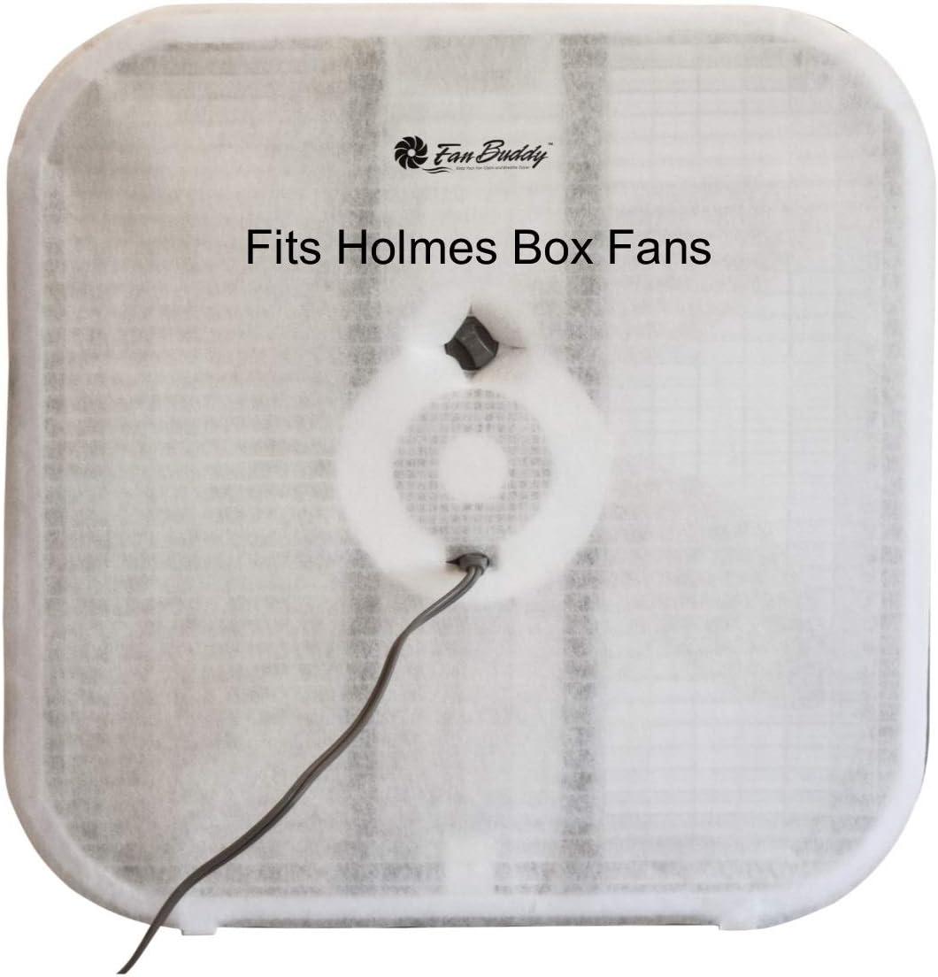 Mold Spores and Pet Dander Biodegradable PollenTec Box Fan MERV 10 Nano Air Filters Pollen Electrostatic Design 6 Pack Compatible with Holmes HBF2010A-WM Box Fans 20.5 Frame Dust