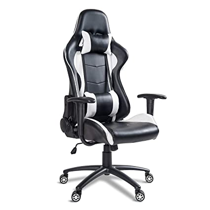 Marvelous Mieres Video Gaming Chair Racing Office Pu Leather High Back Ergonomic 150 Degree Adjustable Swivel Executive Computer Desk Task Large Size Headrest Pdpeps Interior Chair Design Pdpepsorg