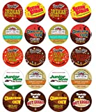 junior mints keurig - 20 Cup Crazy CANDY Hot Cocoa Sampler! NEW! Candy Inspired Hot Chocolate Single Serve Cups! Tootsie Roll Cocoa, Junior Mint Cocoa, Peanut Butter Cup cocoa ++