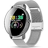 CZX smartklocka, fitness smart klocka sport vattentät lämplig för iPhone/Android smartwatch män och kvinnor puls…