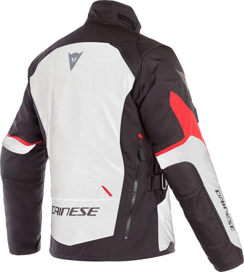 Amazon.com: Dainese Mens Tempest 2 D-Dry Jacket Grey/Black ...