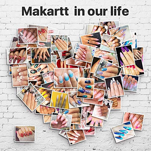 Makartt Zebra Nail Files 100 180 Grit for Poly Nail Extension Gel and Acrylic Nails Emery Boards Doubled Sides Washable 10 Nail File Manicure Tools
