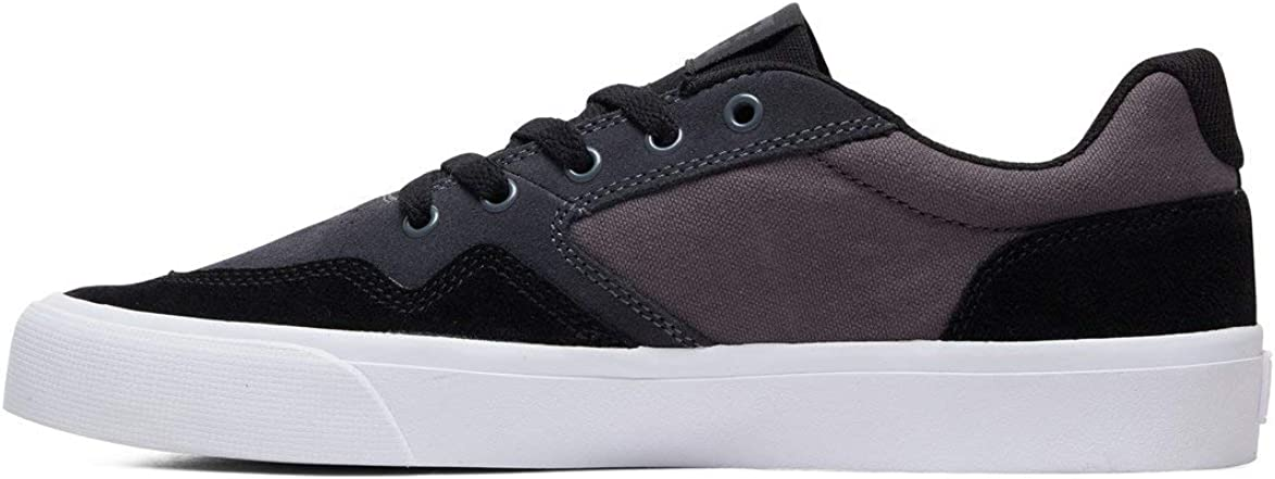 DC Men's Rowlan Sd Skate Shoe Black/Grey