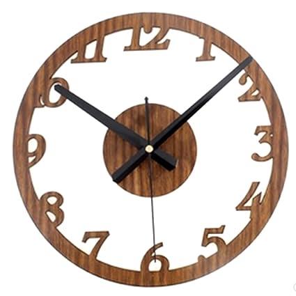 orologio da parete cucina,Lommer Stile vintage fai da te non ...