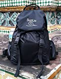 Lightweight, Expandable, Water Resistant Backpack (Black with Braided Belt) Review