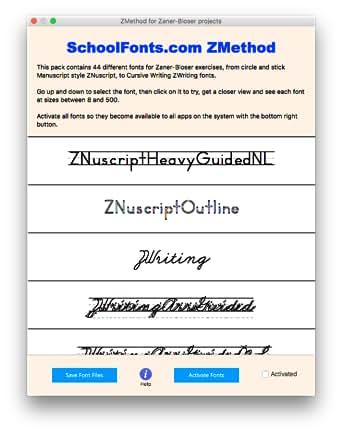 Amazon.com: ZMethod for Zaner-Bloser exercises, from Manuscript to ...