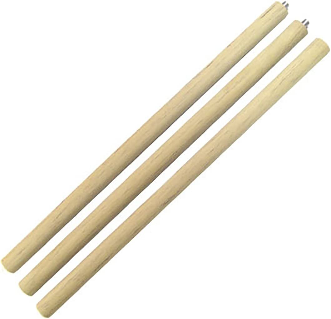 Moospo Korea Martial Arts Sponge Assembly Three Pole Stick Rod 1 Set