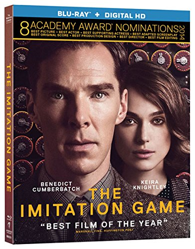 Blu-ray : The Imitation Game (Ultraviolet Digital Copy)