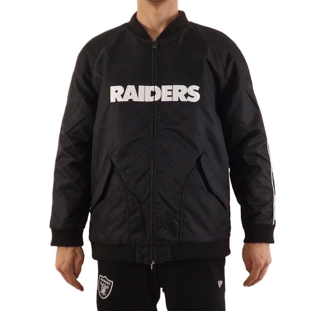 Majestic Chaqueta NFL Oakland Raiders Soft Satin Varisty ...
