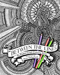 By Peter Deligdisch Between the Lines: An Expert Level Coloring Book (Clr)
