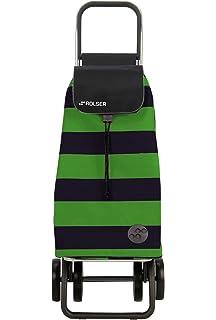 Rolser Carro Pack Luna 4 Ruedas Plegable - Verde/Negro ...