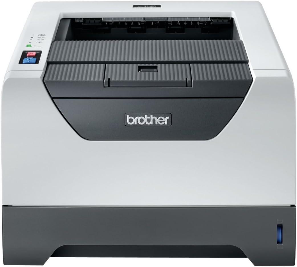 grau 1200 x 1200 dpi, USB 2.0 Brother HL-5340DL Monochrome Laserdrucker