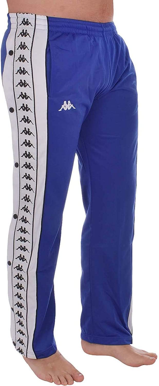 Kappa Mens 222 Banda Big Day Poppers Tracksuit Pants
