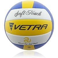 VETRA Voleibol Toque Suave Volley Bola Funcionario Tamaño 5 al Aire Libre Cubierta Playa Gimnasio Juego de Pelota Nueva