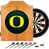 Trademark Gameroom University of Oregon Wood Dart Carbon Fiber Cabinet Set