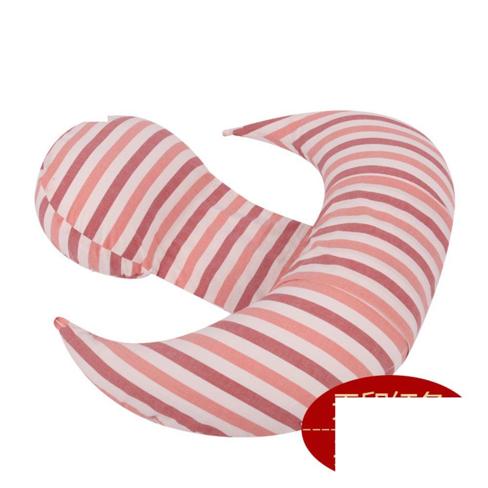 HDSGFDSHGK pregnancy pillow waist side sleeping pillow sleeping on the side pillow u pillow multifunctional pillow belly pillow-B