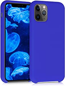 kwmobile TPU Silicone Case Compatible with Apple iPhone 11 Pro - Soft Flexible Rubber Protective Cover - Royal Blue