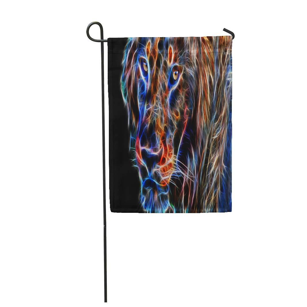Bandera de jardín Semtomn de 30, 48 x 45, 72 cm, impresión en dos ...