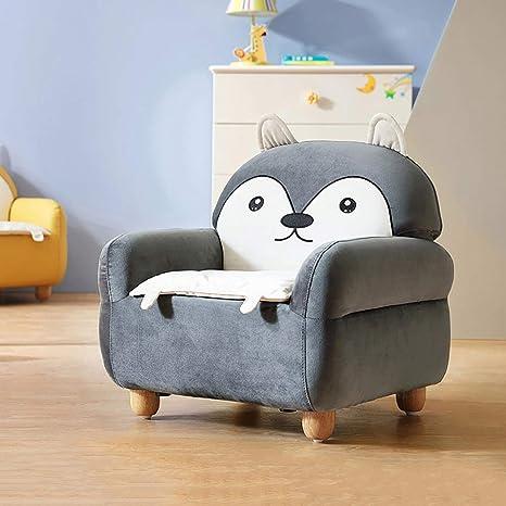 WAYERTY Niños sofá, De niño Sillón Tela de algodón para ...