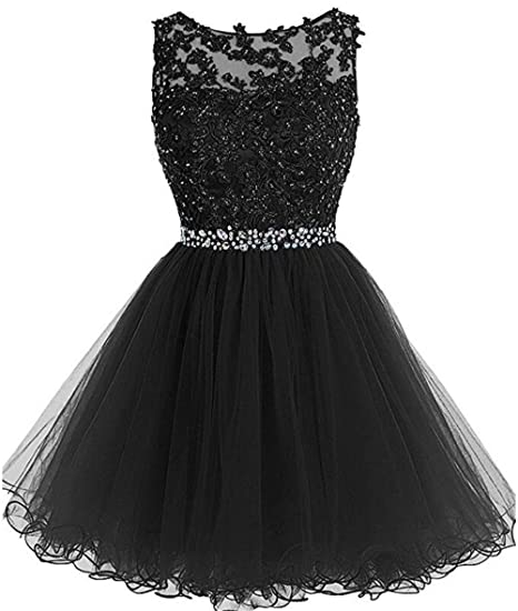 Chugu Short Homecoming Dresses Prom Party Dress for Women Juniors A Line  Tulle 2019 C6