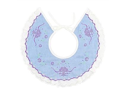 TjcmSs - Toalla de saliva para bebé, diseño de babero bordado, para niñas de