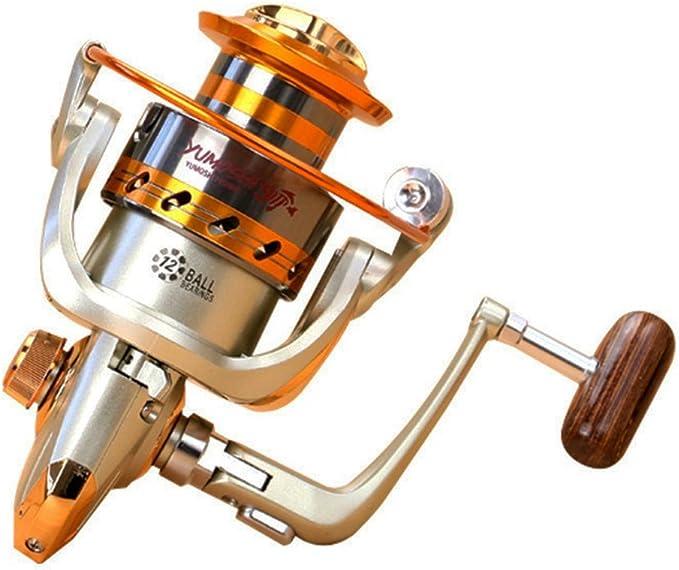 10BB Ball Bearing 5.5:1 Fishing Reels Interchangeable Left//Right Spinning Reel
