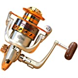 Goswot Left/Right Interchangeable 12BB Ball Bearing Saltwater/Freshwater Fishing Spinning Reel 500-9000 Series Light and…