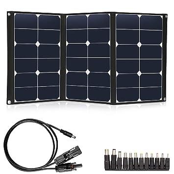 Cargador de panel solar plegable de 60 W, panel solar ...
