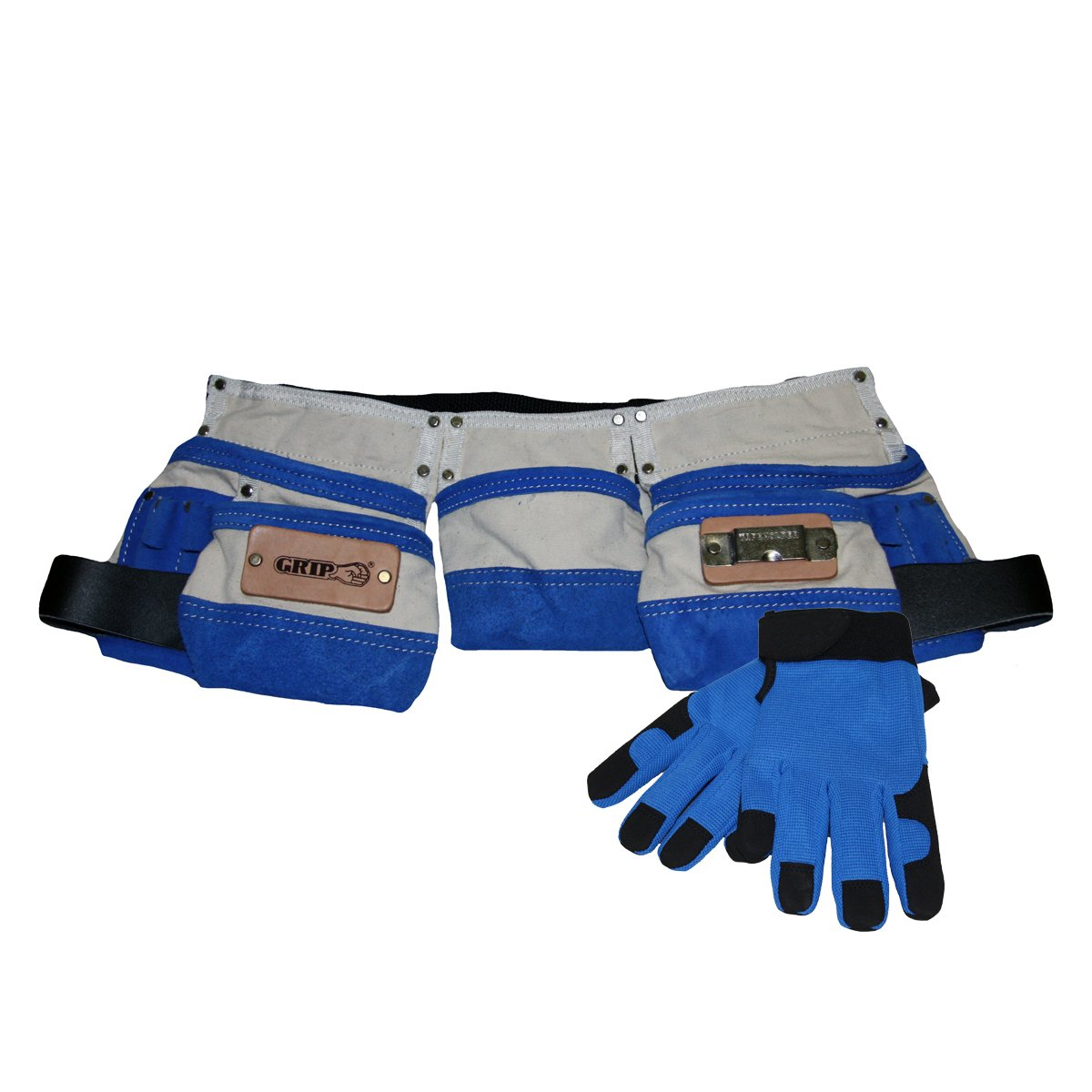 Grip's Children's Tool Belt and Gloves