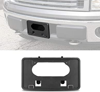 NEW 2009,2010,2011,2012,13,14 F-150 Complete FRONT License Plate Bracket,OE Ford