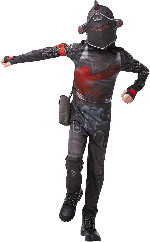 Fortnite - Disfraz Black Knight para niño, 11-12 años (Rubies 300199-TW)